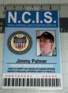 NCIS Jimmy Palmer ID Medical Examiner Assistant by UncleJacks