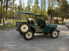 1946 Willys CJ-2A.  The original off road vehicle.