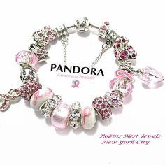 Awareness Bracelet,Choose Authentic Pandora Bracelet, Sterling Silver,OR, European Style Bracelet,Silver Plate,Non Branded Charms, PWH2.3