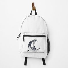 Clecio, MONKEY Backpacks   Redbubble Shoebill, Gifts For Beer Lovers, Unique Bags, Racerback Tank Top, Leather Backpack, Fashion Backpack, Print Design, Booty, Gym Stuff