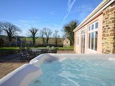 Trelow Farmhouse, Padstow, Cornwall, England, Sleeps 12, Bedrooms 6, Self-Catering Holiday Cottage With Hot Tub, Pet Friendly.