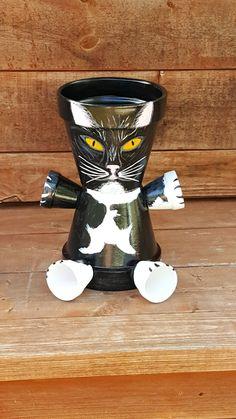 Clay Pot Cat