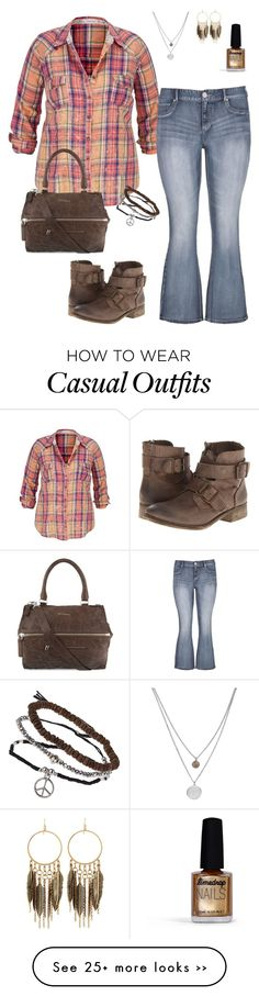 """weekend casual"" by karen-powell on Polyvore"