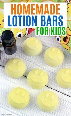 Easy Homemade Lotion Bars for Kids
