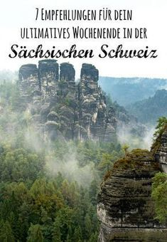 7 recommendations for your weekend in Saxon Switzerland - Reiseziele - Urlaub Camping Places, Go Camping, Places To Travel, Places To See, Europa Tour, Backpacking Europe, Europe Destinations, Travel Aesthetic, Travel Goals