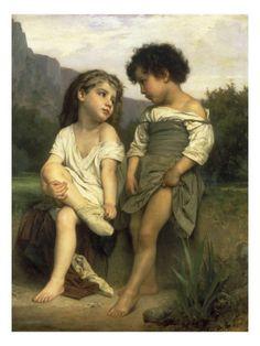 William Adolphe Bouguereau - Les Jeunes Baigneuses