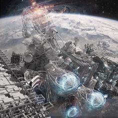 'Skyscraper In Space 3'
