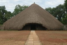 Kasubi tombs, world heritage site in Kampala, Uganda.