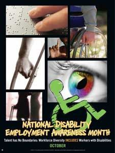 Disability Employment Awareness Month - Talent has No Boundaries..(GSA)