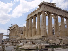 Parthenon, Athens. I was there and need to go back!  I should have been born Greek!