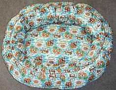 Sew Your Own Dog Bed with This Free Pattern: Materials and Cutting Variation to…