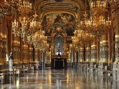 Palais Garnier & The Paris Opera Ballet..I WILL go someday!