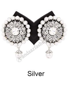 Pearl Studded Earrings Design No. 80316-Silver Price:- £7.99 Andaaz Fashion now presents new arrivals earrings with Awesome Quality and latest fashion trends online silver earrings collection for this season For More Details:- http://www.andaazfashion.co.uk/jewellery/earrings/pearl-studded-earrings.html