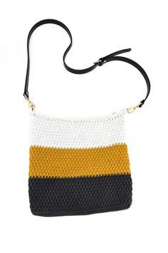 Hæklet flad ripple stitch taske - KreaLoui Shoulder Bag, Stitch, Inspiration, Instagram, Wisdom, Velvet, Creative, Biblical Inspiration, Full Stop