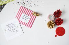 DIY_ carte voeux Instagram #diy #prints #greetingscard #card #instagram