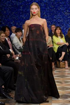 Christian Dior Fall 2012 Couture Fashion Show - Vika Falileeva (Women)