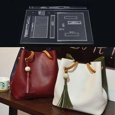 Use DIY Shoulder Bag Handbag Pattern Stencil Template Acrylic Leather Craft Gift Leather Wallet Pattern, Handbag Patterns, Leather Projects, Leather Crafts, Leather Bags Handmade, Leather Shoulder Bag, Leather Handbags, Clear Acrylic, Crossbody Bag