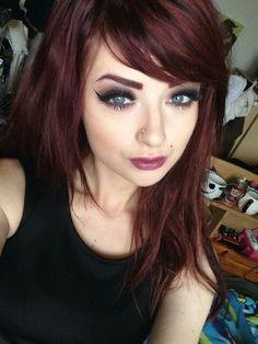 1000 ideas about red tint hair on pinterest curly lob