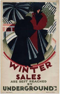 britain underground poster