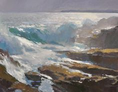 Ray Roberts' Archived oil paintings. See seascapes, landscapes, figurative and sketches.
