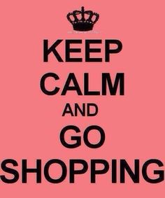 Retail therapy is always good!