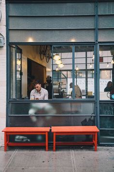 Gasoline Alley Coffee quiet and spacious cafe on the edge of Soho, nice for a chill work environment and empty in comparison to many loud and overcrowded cafes. still trendy without the loudness!