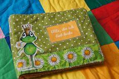 Glücksflügel: DIY: Kuscheliges Fotoalbum für Babies