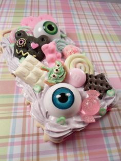 Sweet and Yucky Kawaii Decoden Deco Case for iPhone by Lucifurious, $42.00