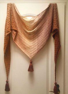Caramel Shawl Free Crochet Pattern | Free Crochet Patterns