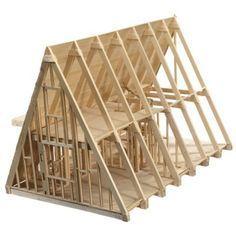 Build model house frame