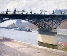Le Pont des Arts - (Edward Hopper)
