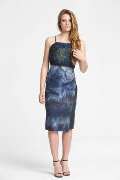 Ocean Dress (Citrus Collection) 2014 // Clara Wigmore Bodycon Dress, Ocean, Fashion Design, Collection, Dresses, Vestidos, Body Con, The Ocean, Dress