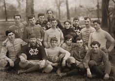 Football team, circa 1892 by Unknown