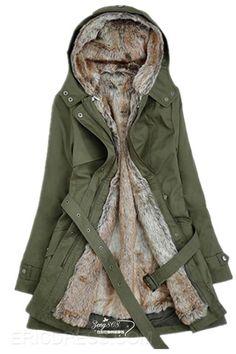 New Long Sections Slim Liner Wool Coat Coats