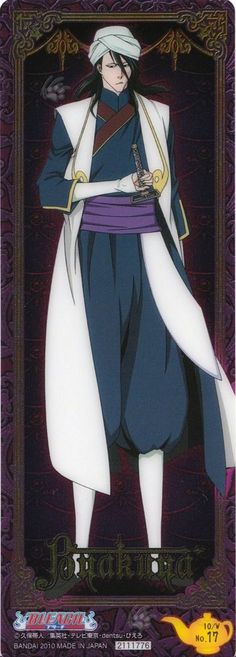 Byakuya 10thanniversaryBleach