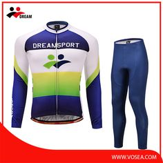 0bf2d21c003b Long sleeve cheap cycle uniform with custom service for winter