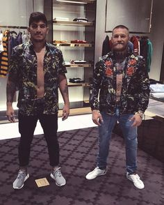 475b5b286d4 Dillon Danis and Conor McGregor Conor Mcgregor Style