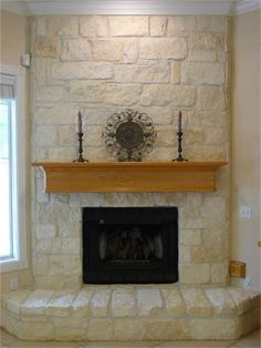 Austin Stone Fireplace Before and After - Blog from Irwin ...