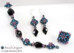 Bead Origami: New Pattern and Kits: Sparkling Compass Set