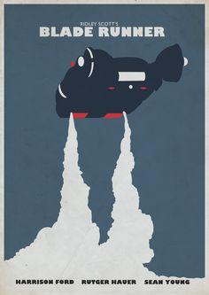 Ridley Scott's Blade Runner (movie poster)