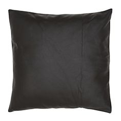 Square Leather Cushion (130 AUD) ❤ liked on Polyvore featuring home, home decor, throw pillows, leather throw pillows, textured throw pillows, handmade home decor, square throw pillows and leather accent pillows