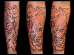 21 Best Custom Koi Fish Forearm Tattoo Images In 2017 Tattoos Koi