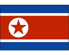 North Korea FlagFlagsMore Pins Like This At FOSTERGINGER @ Pinterest