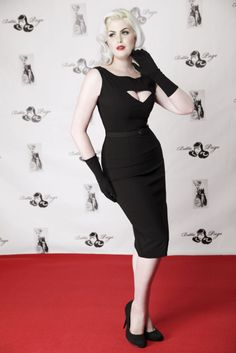 Megan Pencil Black | Bettie Page Clothing