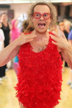 There is NO ONE on this earth like Richard Simmons! LOL!
