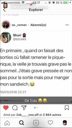 Trop moi ça 😂🥪🥪😋🤤 Funny Memes, Jokes, Best Tweets, Lol, Feeling Happy, Stupid Funny, Best Funny Pictures, Laughter, Positivity
