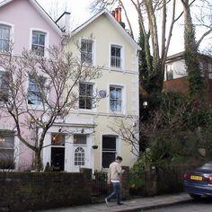 The home of Sir John Betjeman, Poet Laureate,31 West Hill, Highgate, London England
