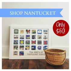 The ABC's of Nantucket from the Karyn Burns Limited Edition Minnies Collection.  The Nantucket PERFECT holiday gift! Only 25 available, so shop now!
