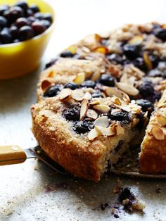 Blueberry Almond Coffee Cake Southern Living