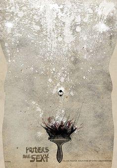 POSTERS ARE SEXY (male) Chris Smentkowski collection, Exhibition, promotion Original Polish poster designer: Ryszard Kaja year: 2013 size: B1